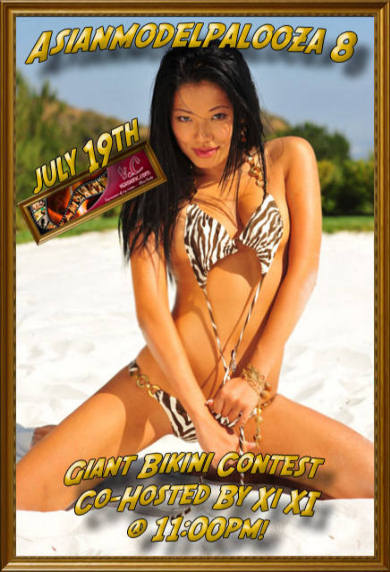 Bikini Contest C0-host Xi Xi Miss China 2007 LIVE!